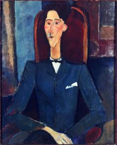 """Jean Cocteau"" by Modigliani"